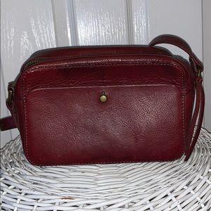 Maroon Madewell bag